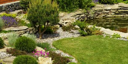 Como fazer um jardim de pedras