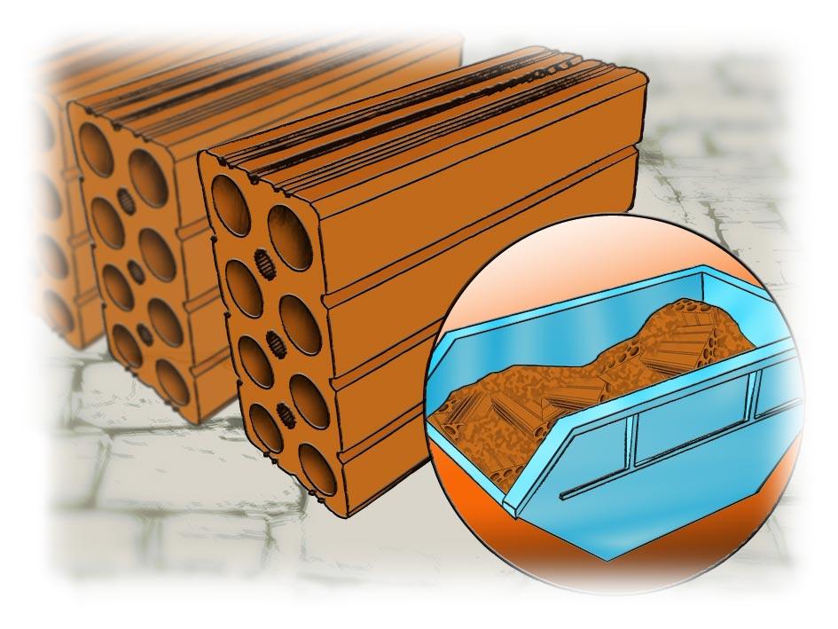 86a2330c3bc7f b) Assim como o tijolo comum, o tijolo baiano também não tem precisão  dimensional. Ou seja, requer mais gastos com material de reboco e mão de  obra, ...