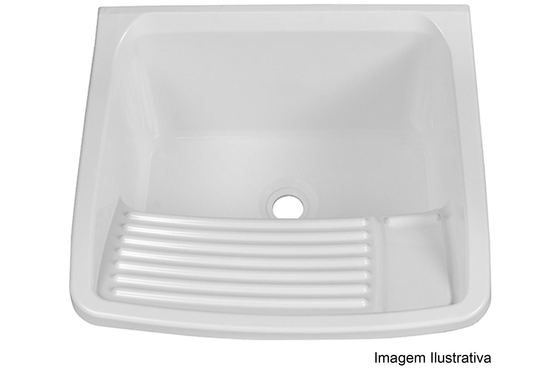 Tanque Plástico 15 Litros Branco Tq0 Astra Cód: 604 #414141 1500 1000
