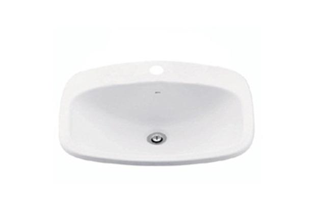 Cuba Sobrepor Retangular Branco Gelo L43  Deca  C&C -> Cuba Para Banheiro Suspensa Retangular Multiuso Gelo Deca