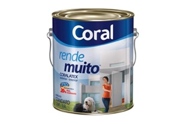 Coral Azul Tinta ~ Tinta Acrílica Rende Muito Azul Sereno 3,6 Litros Coral C&C