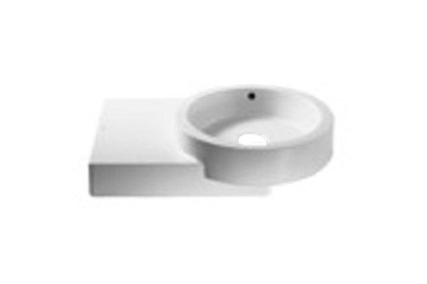 Lavatório  Banheiro  Louças  Material de Construção  C&C Casa e Const -> Cuba Para Banheiro De Apoio Urbi Branca Roca