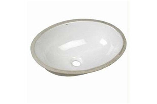 Cuba de Embutir Oval Deca 49x36cm Branco Gelo L37  Deca  C&C -> Cuba Para Banheiro Oval De Embutir