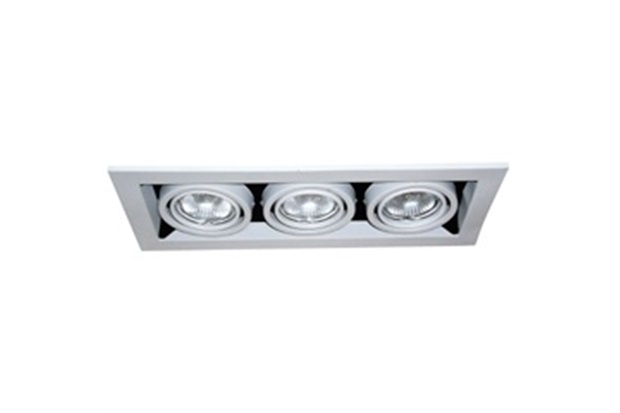 Plafon 3 Luzes para Lâmpada Mr16 50w Ref. Cn1603bc - Bronzearte