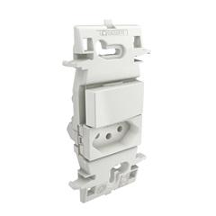 1 Interruptor Simples E 1 Tomada 2p+T Zuli