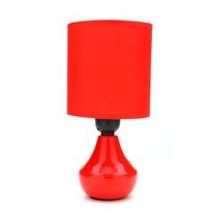 Abajur Belize Vermelho com 25cm Montado - Casanova