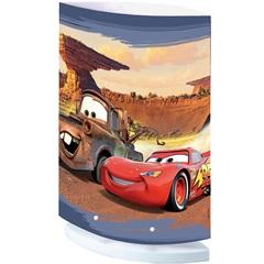 Abajur Infantil Oval Carros  Ref. 110450021                - Startec