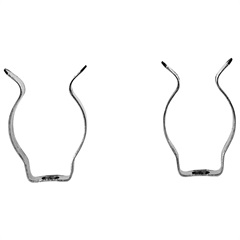 Abraçadeira em Aço Temperado Zincado para Lâmpada Fluorescente - Conecte