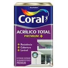 Acrilico Total Fosco Algodao Egípcio 18l  - Coral