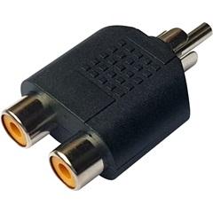Adaptador 2rca Jack X 1rca Plug  - TMS