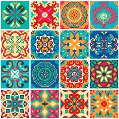 Adesivo de Azulejo 15x15 Modelo Atacama com 16 Peças - Dona Cereja