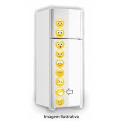 Adesivo de Carinhas Decorativo para Geladeira Ref. 192  - R+ Comunicação