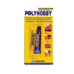 Adesivo Epóxi Super Rápido Polyhobby 2 Horas 24g - Pulvitec