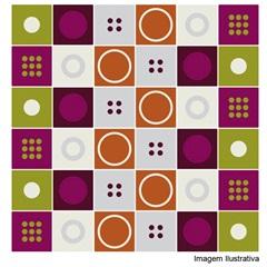 Adesivo para Azulejo 15x15 com 36 Pcs Ref.419 - R+ Comunicação
