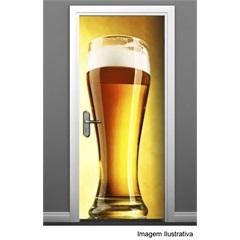 Adesivo para Porta de Copo de Cerveja 90x210 Ref.: 461  - R+ Comunicação