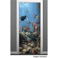 Adesivo para Porta de Peixes 85x210 Ref.: 479  - R+ Comunicação