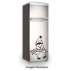 Adesivo Pinguin de Cachecol Decorativo para Geladeira Ref. 191  - R+ Comunicação