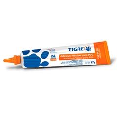 Adesivo Plástico para Pvc Incolor Bisnaga 17g - Tigre