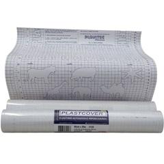 Adesivo Plástico Veluart 45cmx2m Cristal Ref.115 - Plavitec