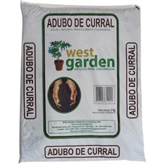 Adubo de Curral 2kg - West Garden