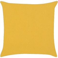Almofada em Gorgurão Amarela 45x45cm