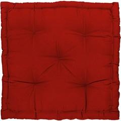 Almofada Futon Vermelho 60x60cm - Combinatta