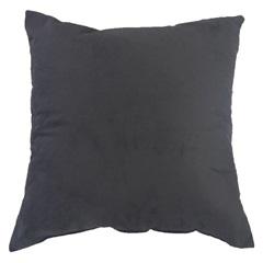 Almofada Lisa Suede Dark Chumbo 45x45  - Combinatta