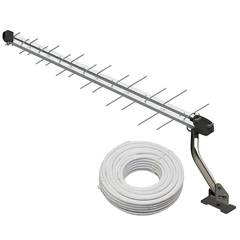 Antena com Sinal Digital Kit Sl2800k Hdtv/Uhf - Brasforma