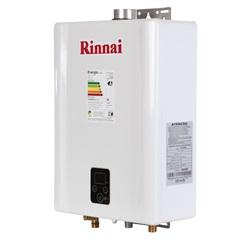 Aquecedor de Água a Gás Digital Bivolt Gn E21 Branco E Prata  - Rinnai