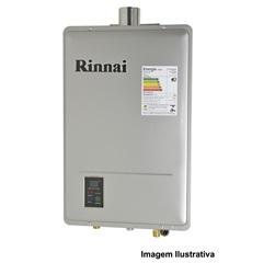 Aquecedor de Água a Gás Reu 1602 Gn de 22,5 Litros Prata Bivolt  - Rinnai