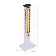 Aquecedor de Ambiente Quartzo Elétrico Vertical 220v Ref.: 2132  - Cotherm
