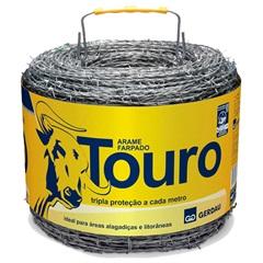 Arame Farpado Touro Rolo 250m - Gerdau
