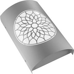 Arandela em Aço Bivolt Arco Árabe Branca 6000k Luz Branca - RCG Tecnologia