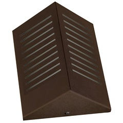 Arandela Triangular com Rasgo Vertical Ref: 6133 Café - Pantoja