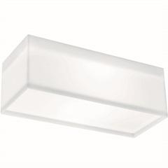 Arandela White Led Retangular 20w 12,4x36,4cm 127v - Bronzearte