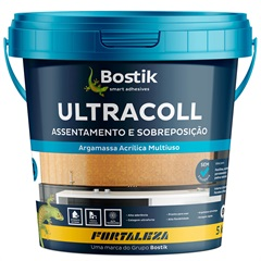Argamassa Acrílica Pronta para Usar Ultracoll Branca 5kg - Fortaleza