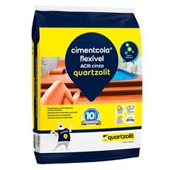 Argamassa Cimentcola Flexível Externo Aclll 20kg  - Quartzolit