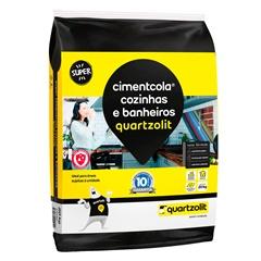 Argamassa Colante Cimentcola Cozinha E Banheiros Cinza 20kg