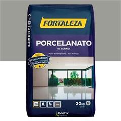 ARGAMASSA COLANTE PARA PORCELANATO INTERNO CINZA 20KG 81889 Fortaleza