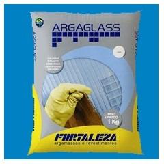 Argamassa para Pastilha de Vidro Argaglass 1 Kg Azul Escuro 480 - Fortaleza