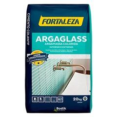 Argamassa para Pastilha de Vidro Argaglass 20 Kg Branco 610 - Fortaleza