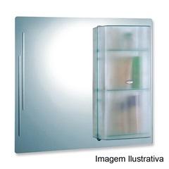 Armário Cris-Acril sem Iluminação 70x70cm Ref:424 - Cris Metal