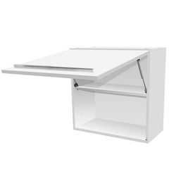 Armário de Cozinha Aéreo Fit Mdf Branco 1 Porta 60x60cm - Bumi