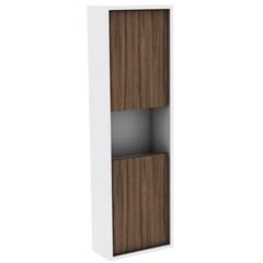 Armário Lateral para Banheiro em Mdf Módena 99,5x30cm Terracota - Darabas
