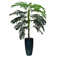 Árvore Palmeira com 21 Folhas Verde - Della Import