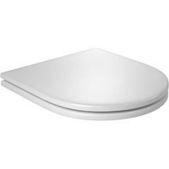 Assento Link / Duna / Nuova / Carrara de Poliéster com Slow Close Branco Gelo Ap237 - Deca