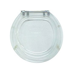 Assento Oval Cristal Ref. 501  - Formacril