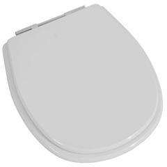 Assento Sanitário Aspen E Fast em Mdf Branco E Cromado  5533 - Sicmol