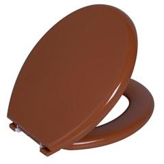 Assento Sanitário Convencional Espuma Caramelo Fechamento Comum - Astra