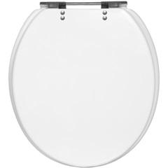 Assento Sanitário em Poliéster Convencional Branco - Casanova